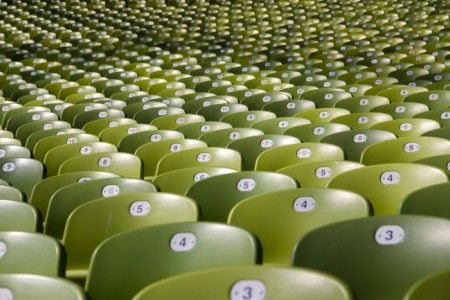 paul bergmeir / unsplash.com 500px Photo ID: 28795857 - The seats of the Olympic Stadion in Munich.