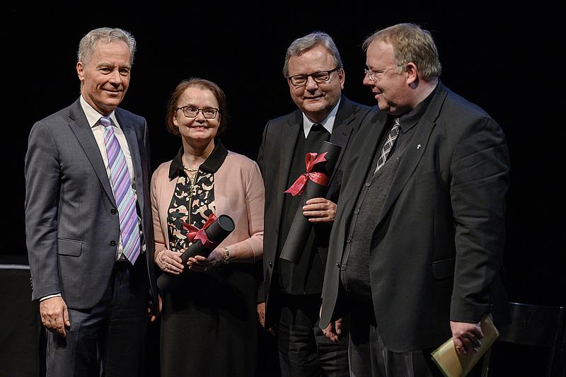 Ehrendoktorate 2019 Theologische Fakultät Luzern