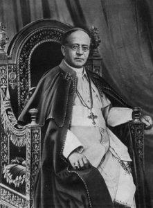 Papst Pius XI.