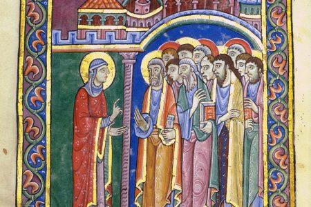 Albani Psalter: Maria von Magdala